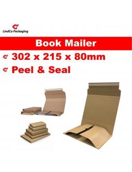 Corrugated Cardboard Wrap Around Book Mailer