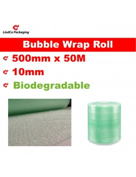 Polycell ECO PURE Series Biodegradable Bubble Wrap Roll. P10 Standard Industrial Roll.