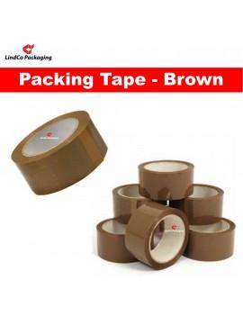 LindCo Premium 45u Brown packing tape - premium industrial protective packaging material @LindCo Packaging