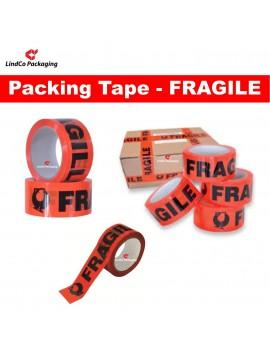 LindCo Premium 45u Fragile packing tape - premium industrial protective packaging material @LindCo Packaging