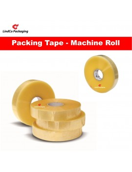 LindCo Premium Clear Machine use packing tape - premium industrial protective packaging material @LindCo Packaging