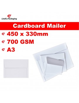LindCo A3 Rigid mailer box/envelope - premium industrial protective packaging material @LindCo Packaging