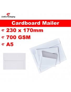 LindCo A5 Rigid mailer box/envelope - premium industrial protective packaging material @LindCo Packaging