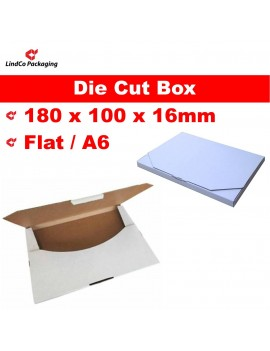 Boxmore Super Flat Die cut box cardboard box mailer - premium light-weight industrial protective packaging material