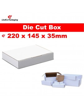 Boxmore B2 light-weight die-cut box cardboard box mailer - premium industrial protective packaging material