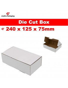Boxmore B4 light-weight die-cut box cardboard box mailer - premium industrial protective packaging material