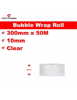 LindCo P10 Clear Bubble Wrap Roll void filling industrial protective packaging material @LindCo Packaging