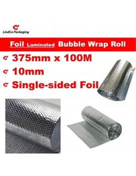 LindCo P10 Metalized Foil laminated Bubble Wrap Roll industrial Single-sided protective packaging material @LindCo Packaging