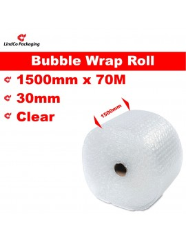 LindCo P30 Clear Bubble Wrap Roll void filling industrial protective packaging material @LindCo Packaging
